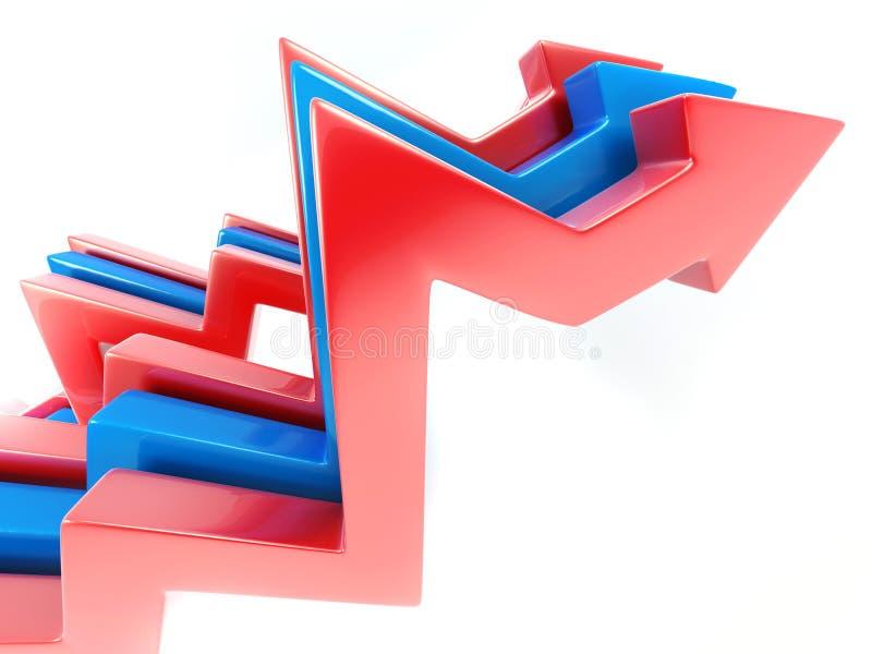 Abstrakte Pfeile vektor abbildung
