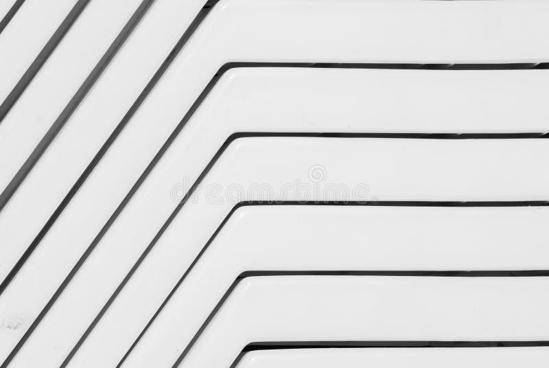 Abstrakte Plastiklinien stockfoto