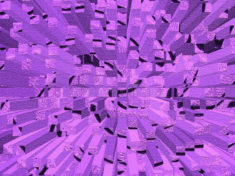 Abstrakte purpurrote Beschaffenheit vektor abbildung