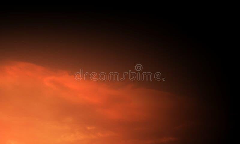 Abstrakte Rauchhuka auf einem schwarzen Hintergrund stockfotografie