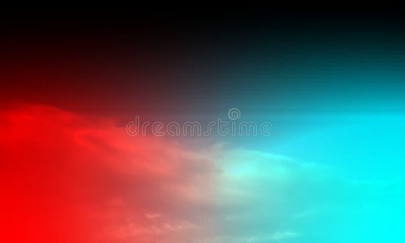 Abstrakte Rauchhuka auf einem schwarzen Hintergrund lizenzfreie stockfotografie