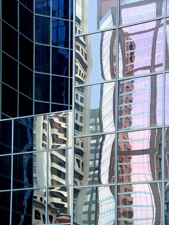 Abstrakte Reflexionen lizenzfreies stockfoto