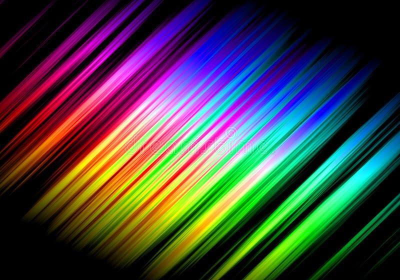 Abstrakte Regenbogenwellen lizenzfreie stockbilder