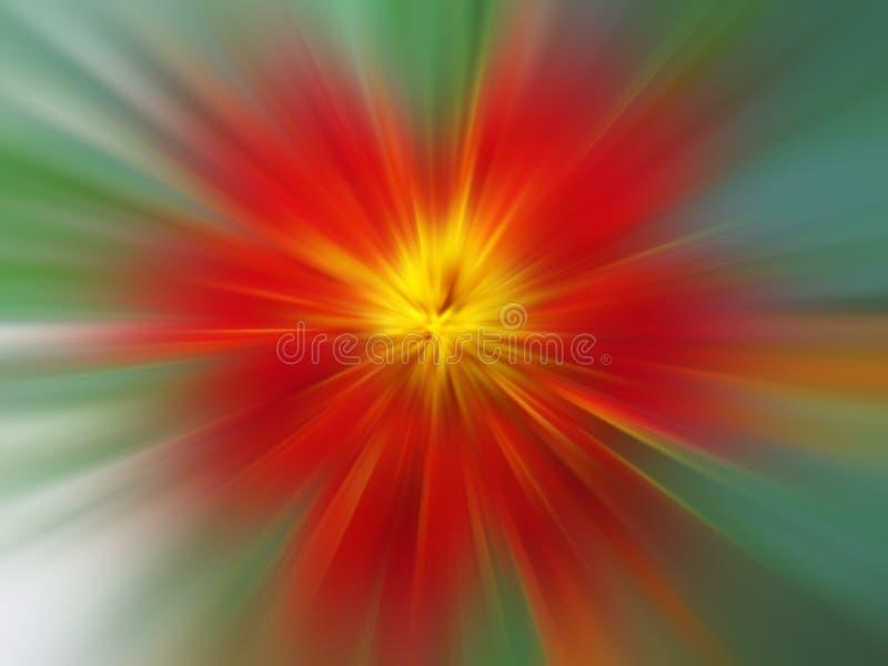 Abstrakte rote Blume lizenzfreies stockbild