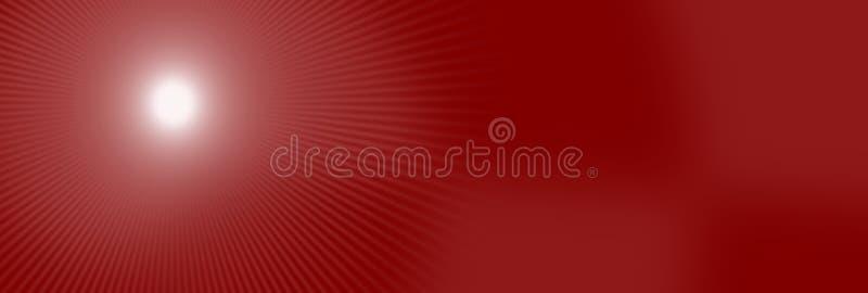Abstrakte rote Netzhintergrund-Tapetenbeschaffenheit mit Punktsonnen-Glanzfunkeln und bokeh Effekt stock abbildung