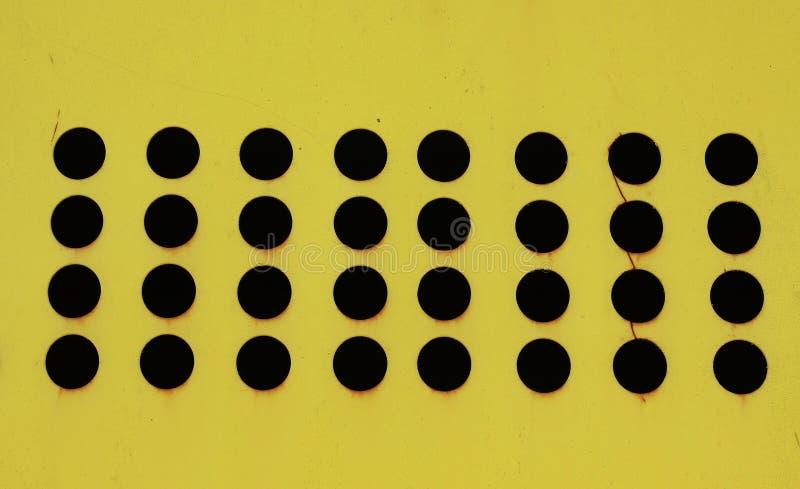 Abstrakte runde Löcher stockfoto