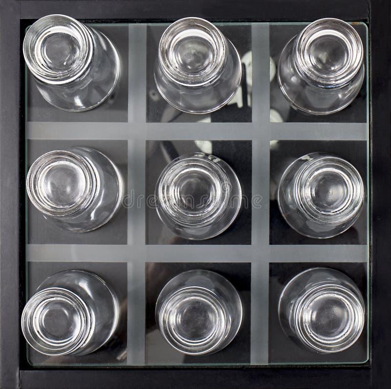 Abstrakte Schnapsgläser stockfotos