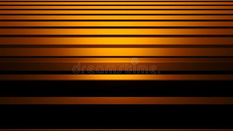 Abstrakte silberne Aluminiumillustration des Streifenhintergrundes 3d, horizontale Stangen mit zu übertragen dem Glänzen, Compute lizenzfreie abbildung