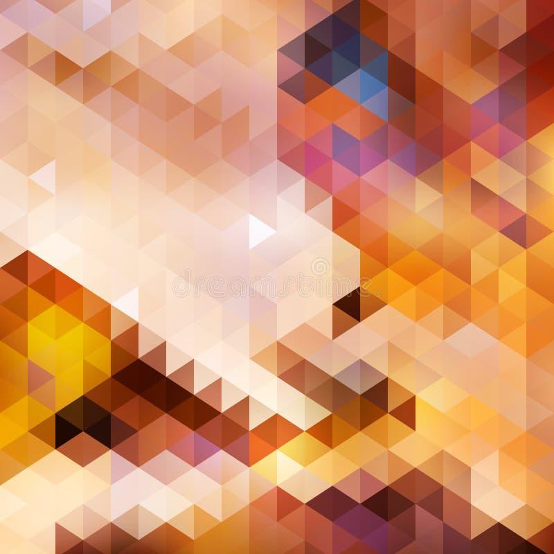 Abstrakte Sonnenuntergangherbst-Hintergrundkarte. vektor abbildung
