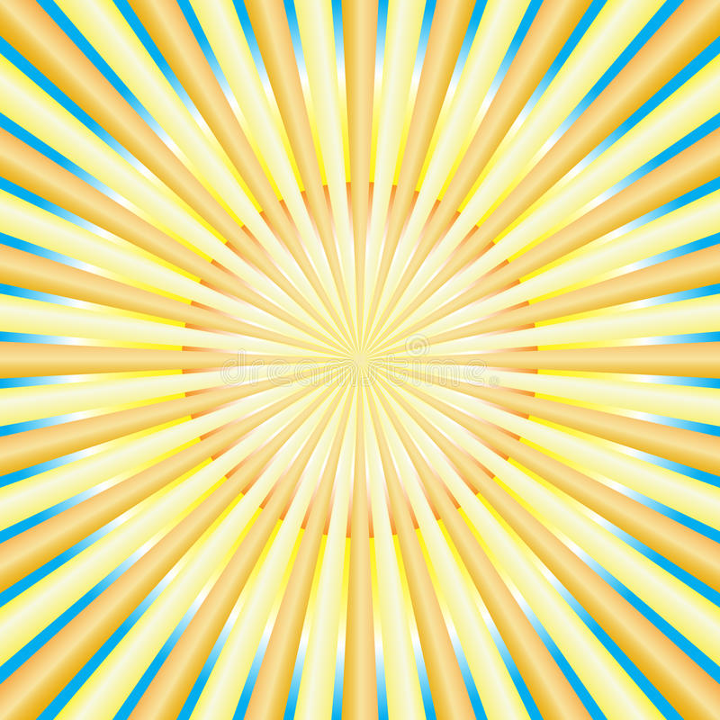 Abstrakte Sonnestrahlen vektor abbildung