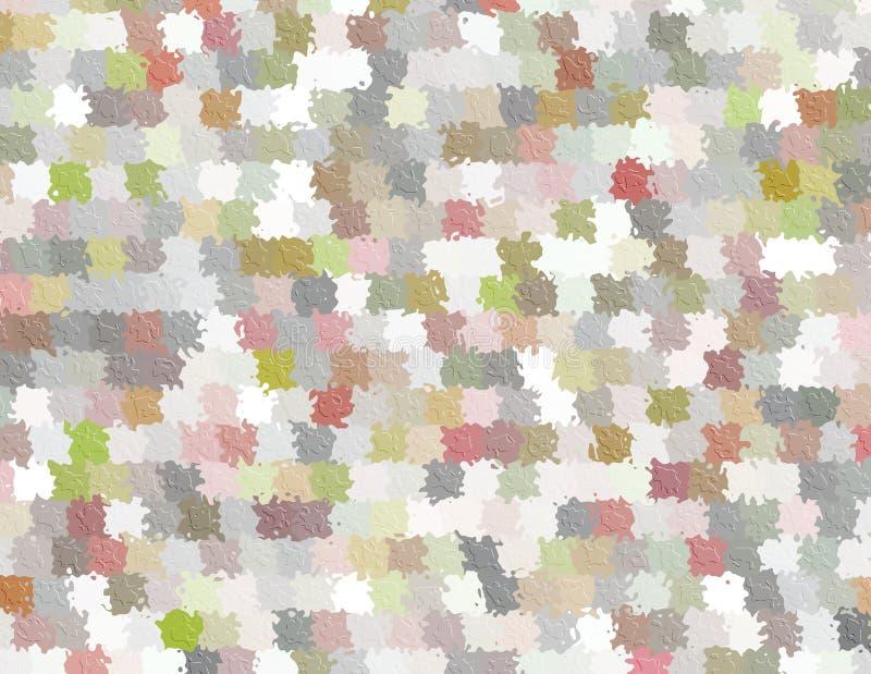 Abstrakte Stellen-Malerei-Hintergründe vektor abbildung