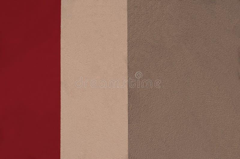 Abstrakte Trikolore in den roten Farben lizenzfreie stockfotos