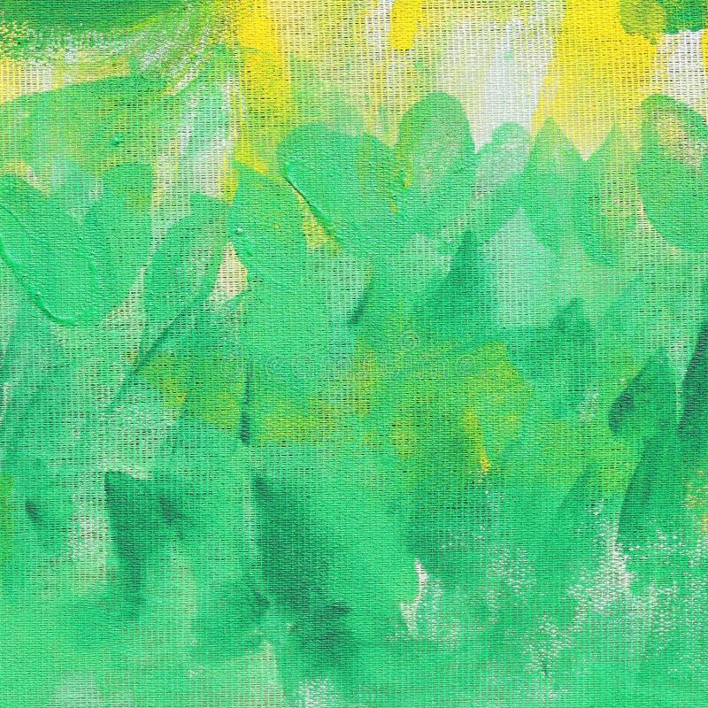 Abstrakte ungewöhnliche neue gelbe und grüne Hintergrundbeschaffenheit stockfoto