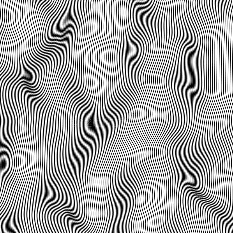 abstrakte Vektorillustration lizenzfreie abbildung