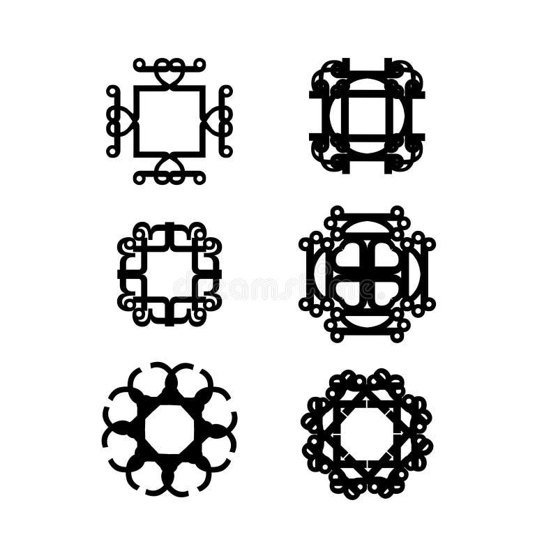 Abstrakte vektorkunst lizenzfreies stockfoto