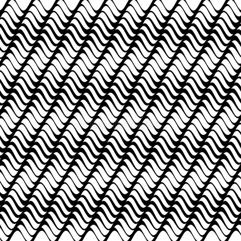 Abstrakte vektorwelle lizenzfreie abbildung