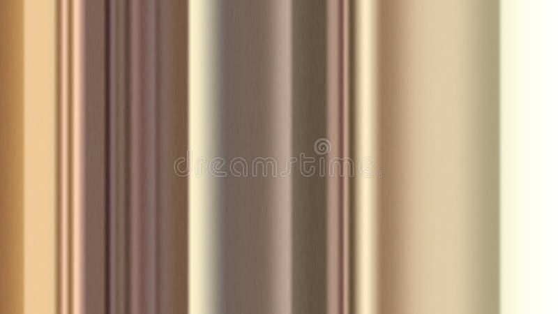 Abstrakte vertikale Streifen mit geb?rsteter Metallbeschaffenheit f?r Hintergrund stockfotografie