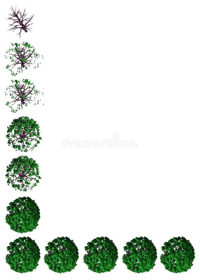 Abstrakte Verunreinigungs-Wiedergabe stock abbildung