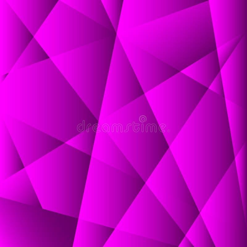 Abstrakte Violet Geometric Background vektor abbildung