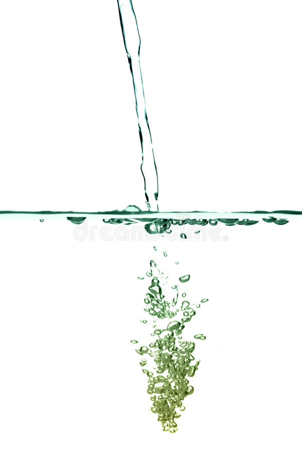 Abstrakte Wasserluftblasen lizenzfreies stockbild