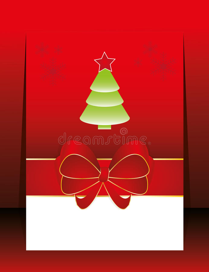 Download Abstrakte Weihnachtsfeiertags-Grußkarte Vektor Abbildung - Illustration von celebrate, dekor: 26363041