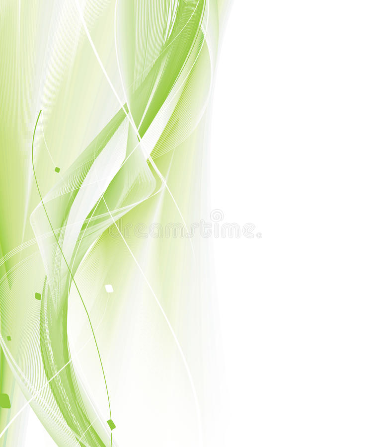 Abstrakte Wellenzeile Hintergrund lizenzfreie abbildung