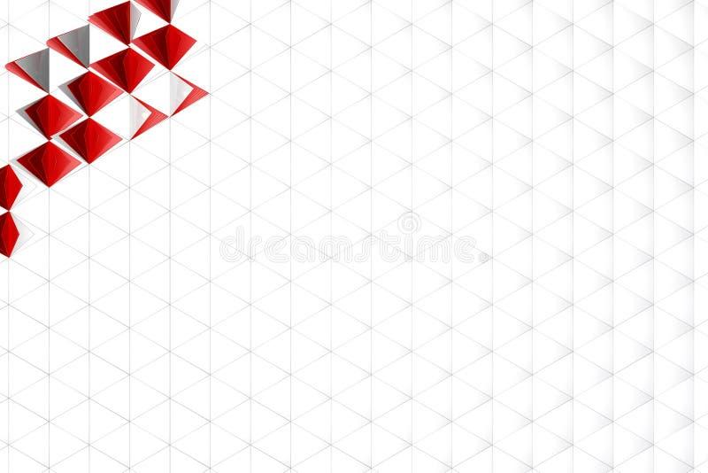 Abstrakte Wiedergabe 3d der weißen Oberfläche stockfotos