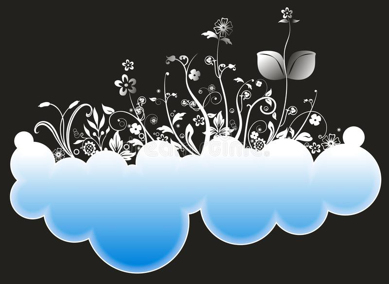 Abstrakte Wolken stockfotografie