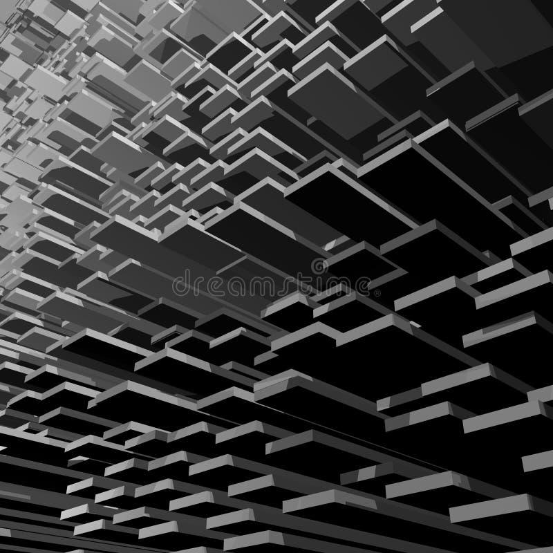 Abstrakte Zahl Hintergrund vektor abbildung