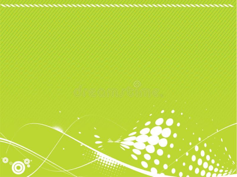 Abstrakte Zeile Halbtonhintergrund stock abbildung