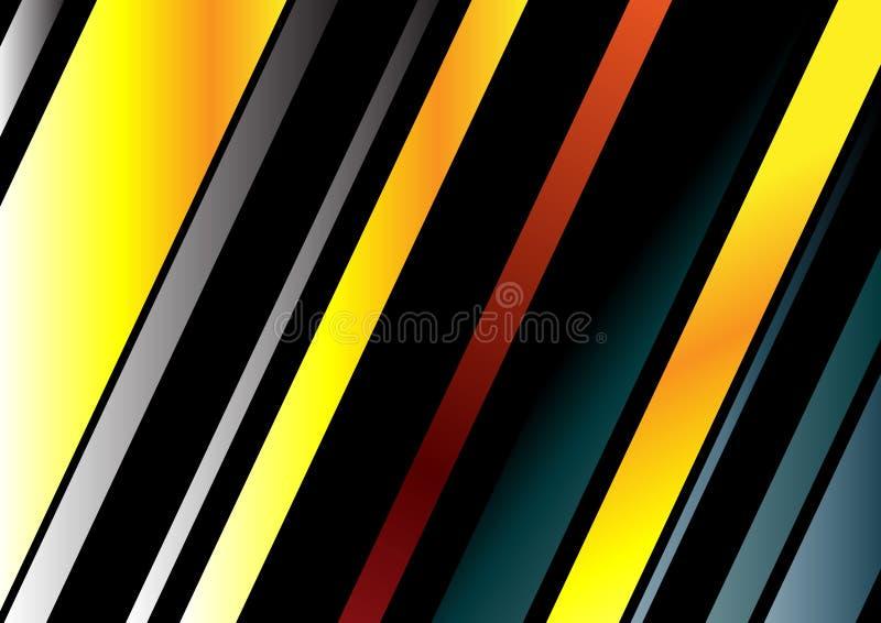 Abstrakte Zeile Hintergrund vektor abbildung