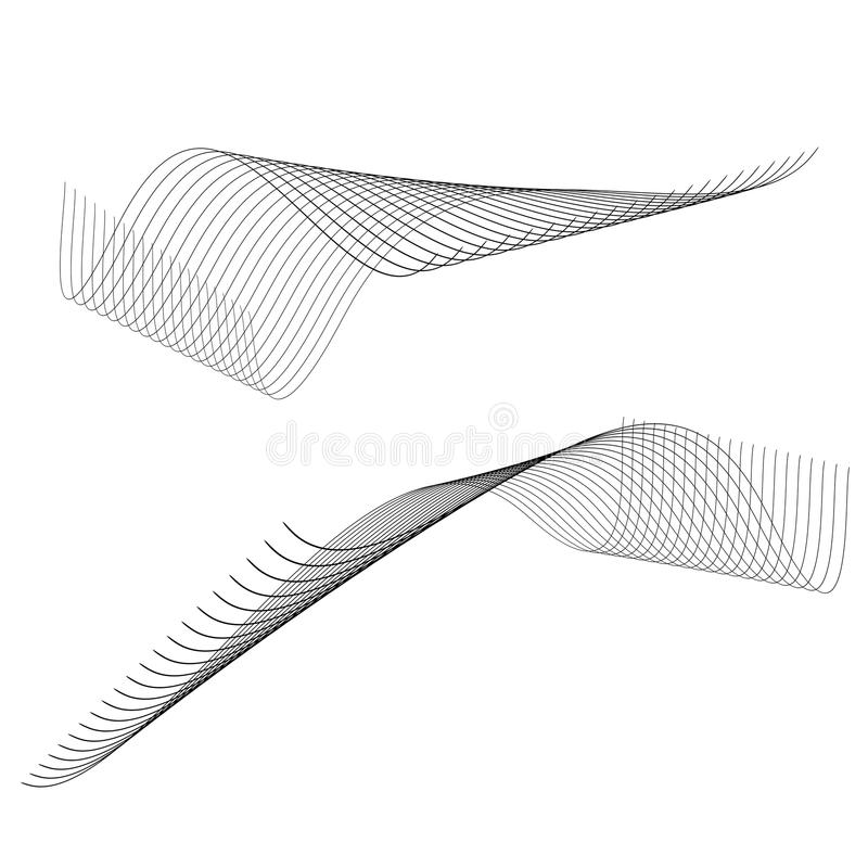 Abstrakte Zeilen vektor abbildung