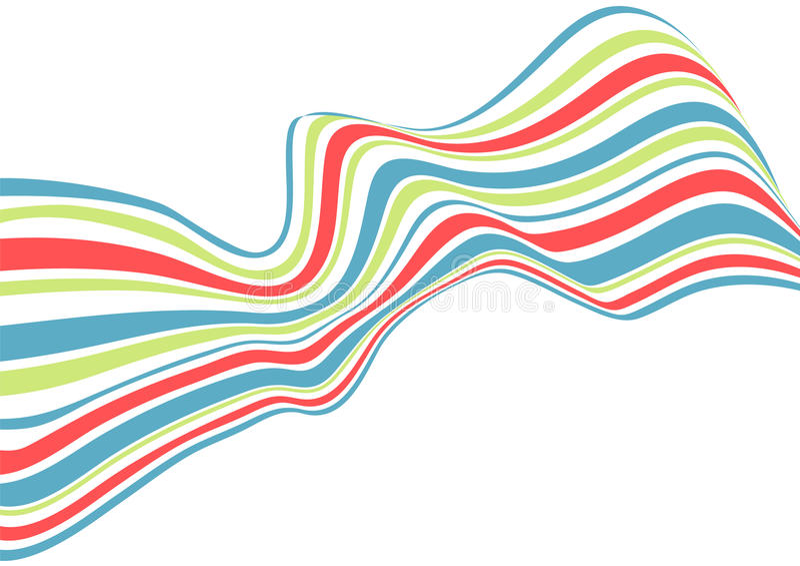 Abstrakter Abbildunghintergrund stock abbildung