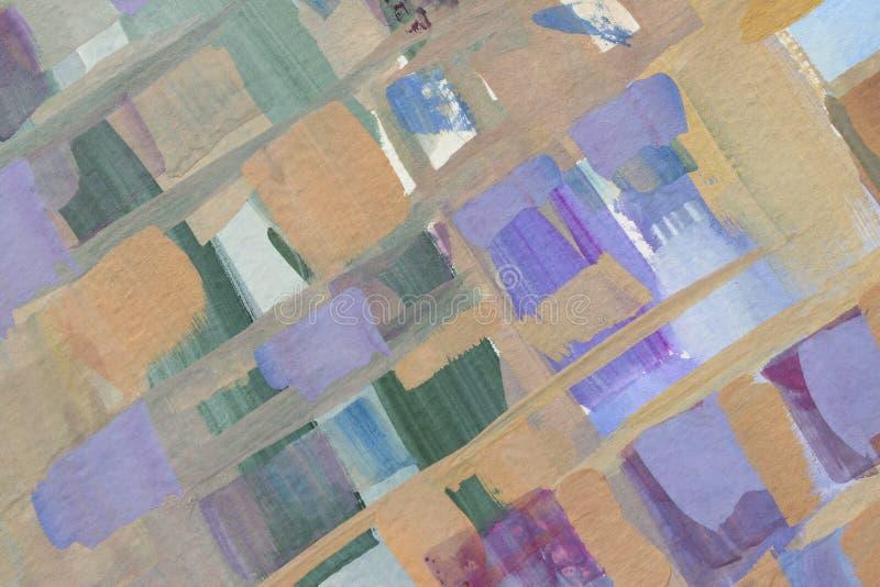 Abstrakter Anstrich Farbiger Schmutzhintergrund lizenzfreies stockfoto