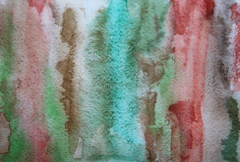 Abstrakter Aquarell grunge Hintergrund stockbild