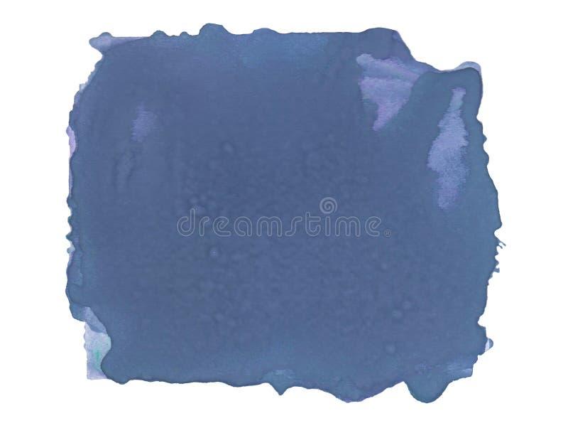 Abstrakter Aquarellfleck mit spritzt und beschmutzt lizenzfreie stockbilder