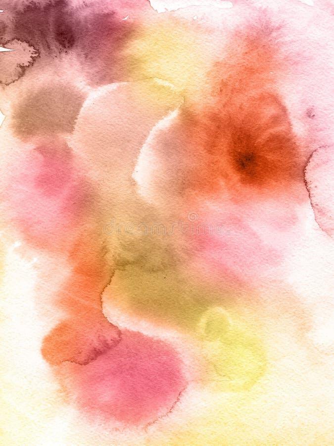 Abstrakter Aquarellhintergrund lizenzfreie abbildung