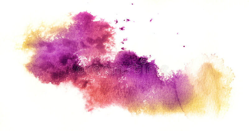 Abstrakter Aquarellhintergrund stock abbildung