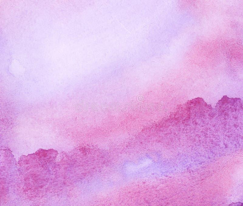 Abstrakter Aquarellhintergrund. lizenzfreie abbildung