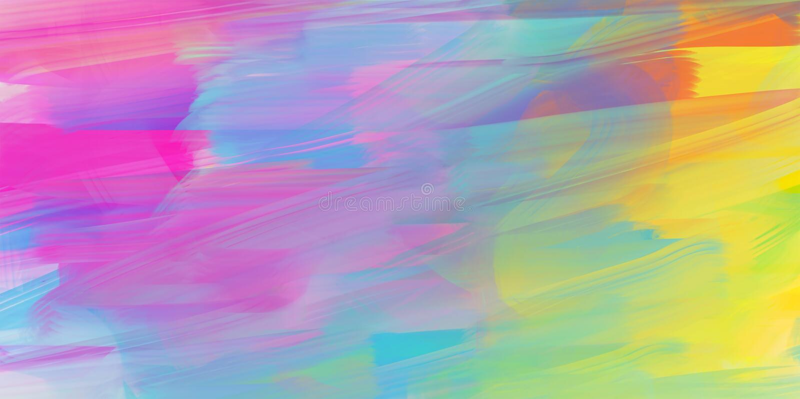 Abstrakter Aquarellhintergrund, bunte Beschaffenheit lizenzfreie abbildung