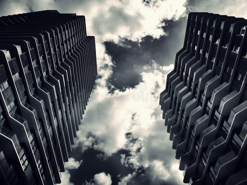 Abstrakter Architekturhintergrund