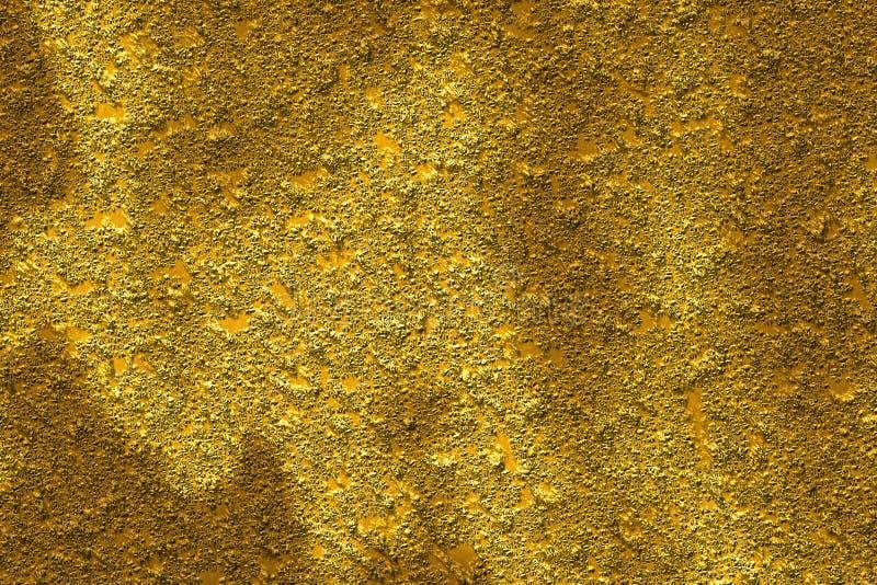 Abstrakter Aufbau, Gold lizenzfreies stockfoto