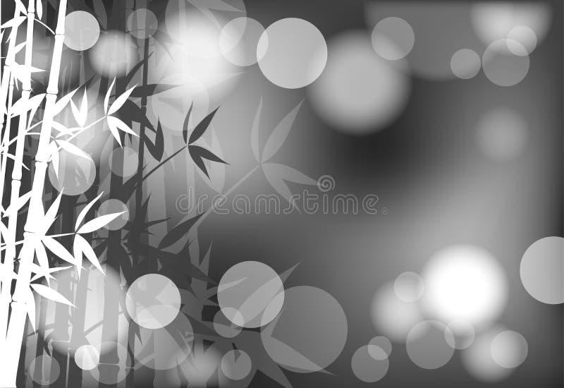 Abstrakter Bambushintergrund,   stock abbildung