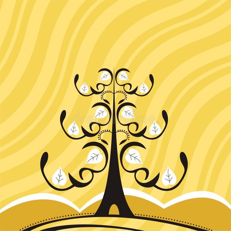Abstrakter Baum lizenzfreie abbildung