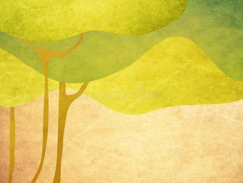 Abstrakter Baum stock abbildung
