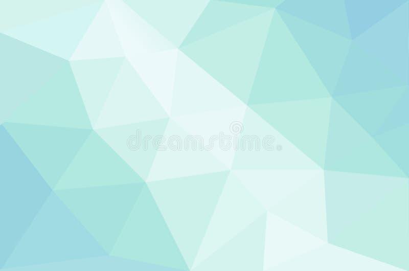 Abstrakter beruhigender Pastell farbiger Hintergrund lizenzfreie abbildung