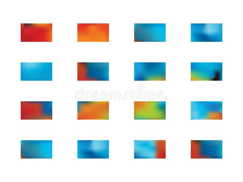 Abstrakter Beschaffenheitshintergrund-Illustrationssatz lizenzfreie abbildung