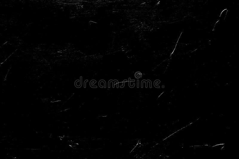 Abstrakter beunruhigte Schicht des Kratzerschwarzen Hintergrund lizenzfreie stockfotografie