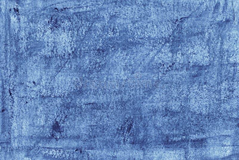 Abstrakter blauer Aquarellhintergrund in der hohen Auflösung lizenzfreie abbildung