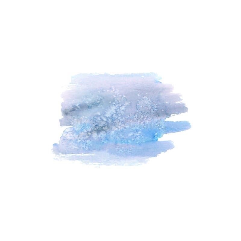 Abstrakter blauer Fleck stockfotografie
